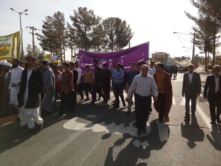 حضور دانشجویان مؤسسه آموزش عالی پیروزان